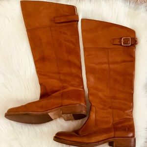 Coach Boots Joele Size 7 Medium Brown